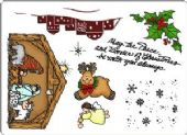 Creative Expressions Umount - Christmas Nativity - A5 Unmounted Stamp Plate - UMNATIVIT